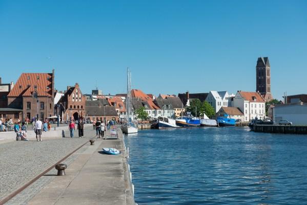 Alter Hafen in Wismar