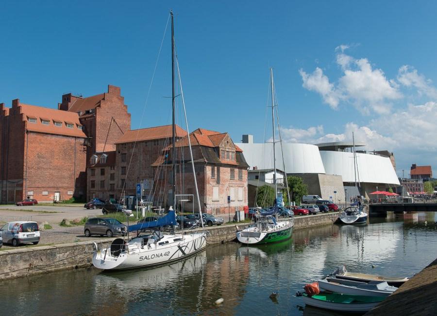 Kanal in Stralsund