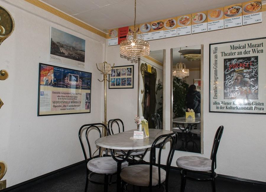 Nostalgiecafe in Prora