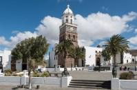 Plaza de la Constitution in Teguise
