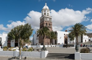 Plaza de la Constitution in Teguise