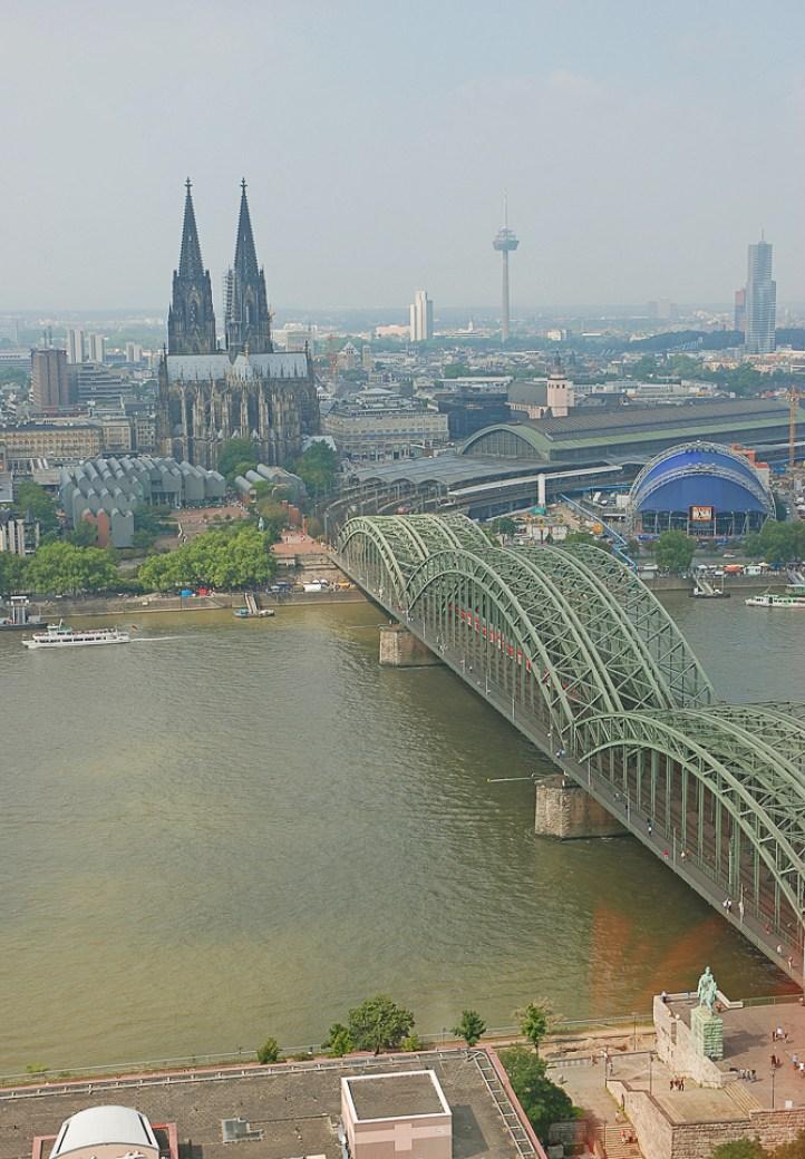 Ausblick vom Köln Triangel