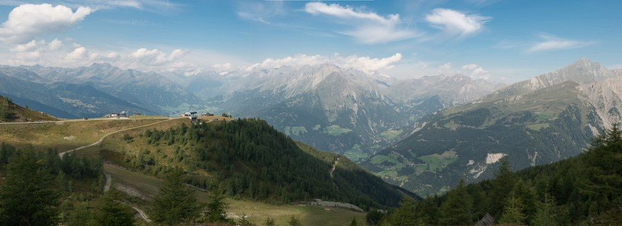 Gipfelstation der Goldriedbahn in Matrei