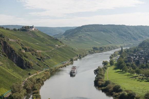Blick auf die Marienburg