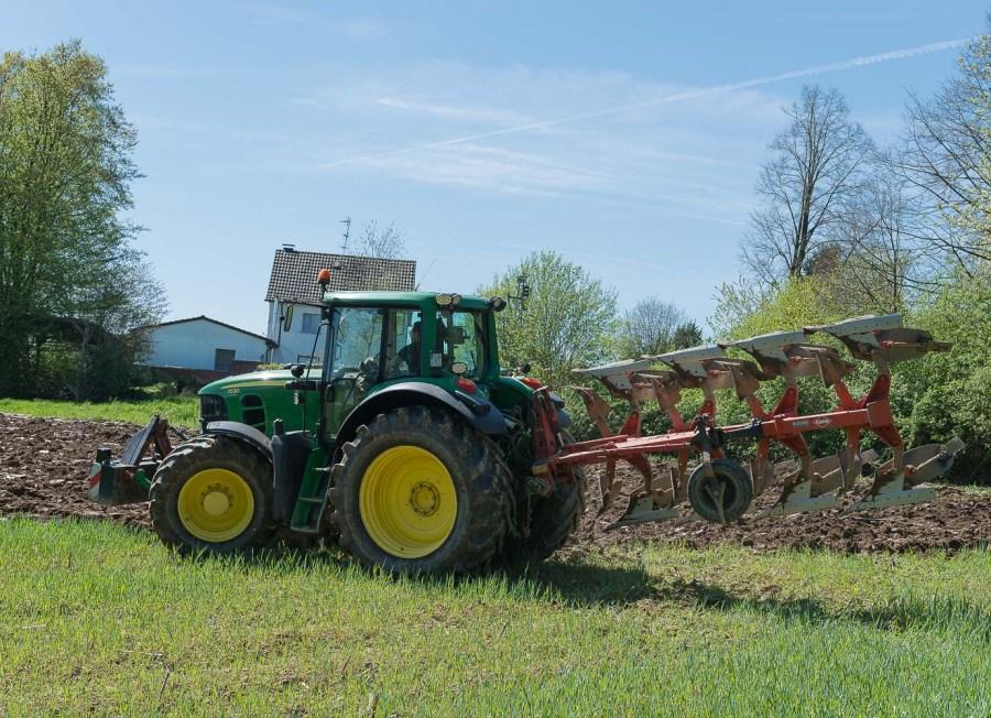 Landmann bei der Arbeit