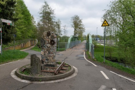 Ehemalige Bahnstrasse als Radweg