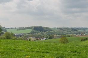 Aussicht auf Ortsteil von Wipperfürth