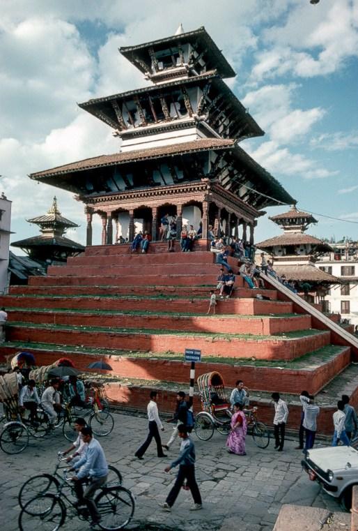 Am Durbar Square von Kathmandu