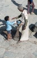 Kokusnussverkäufer