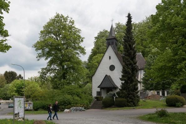 Kapelle am Parkplatz