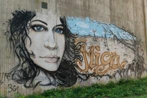 Graffiti der schöneren Art