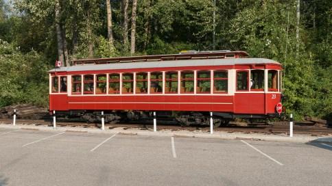 Strassenbahn in Nelson