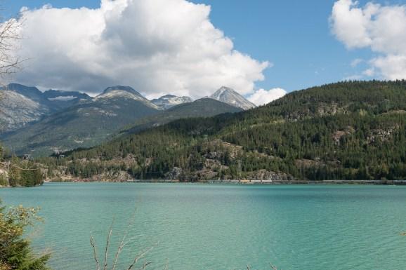 Green Lake bei Whistler
