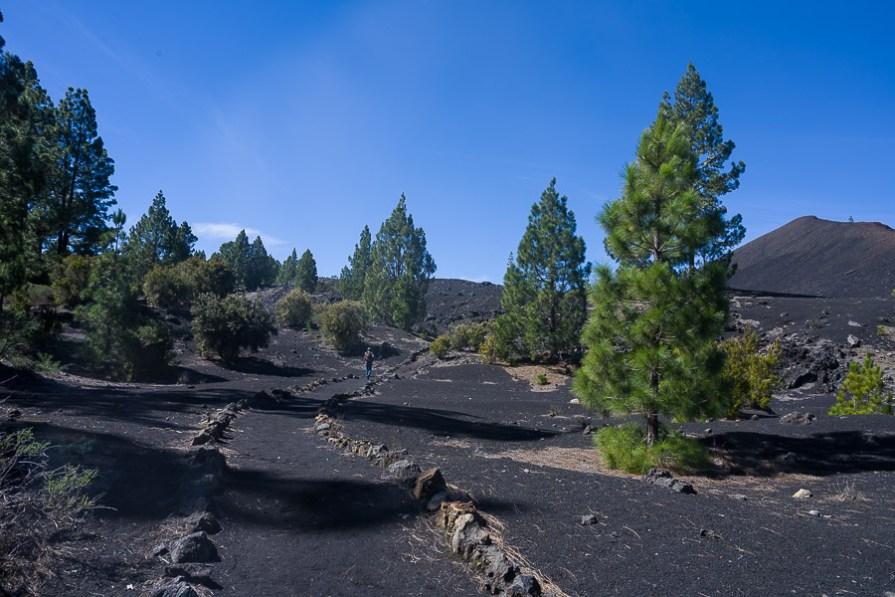 Start der Vulkanumrundung