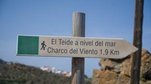 Teide auf Meereshöhe lautete das Motto des Wanderweges