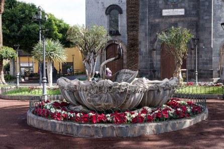 Am Plaza de la Iglesia