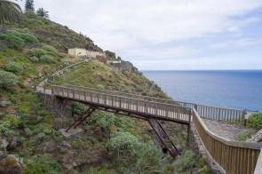 Brücke über einen Barranco