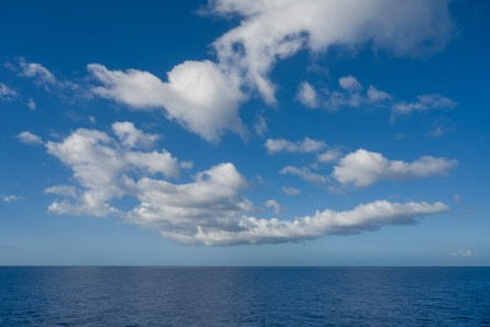 Meer auf dem Hinweg