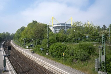 Bahnstation am Westfalenstadion