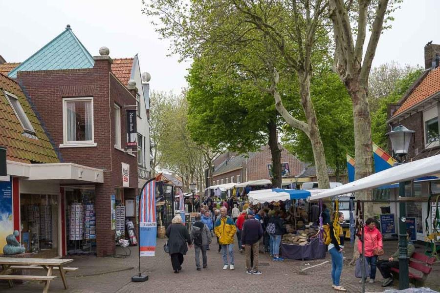 Markt in Den Burg