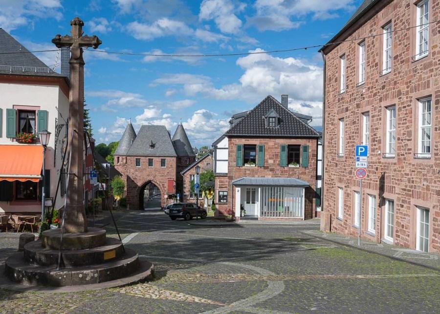 Am alten Marktplatz in Nideggen