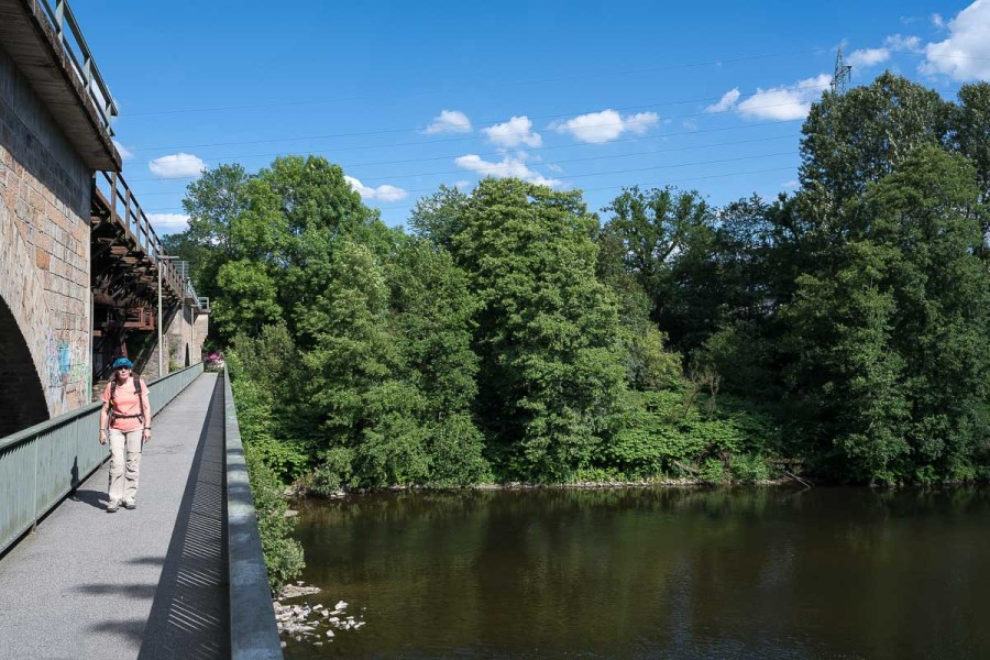 Eisenbahnbrücke nach Schladern