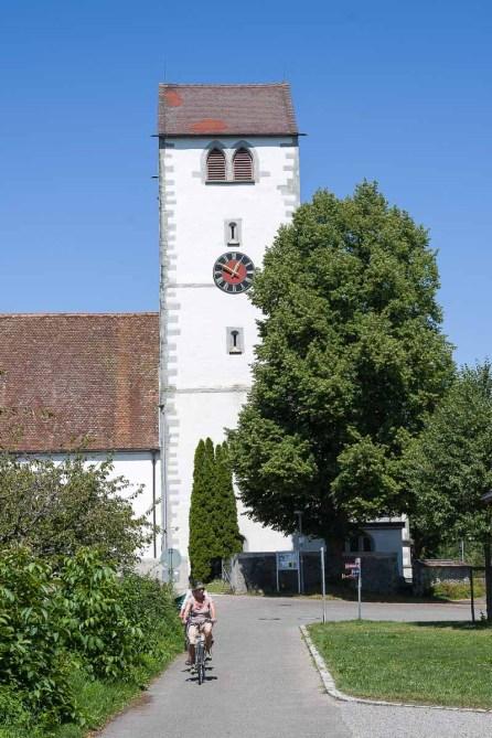 Kirchturm in Seefelden