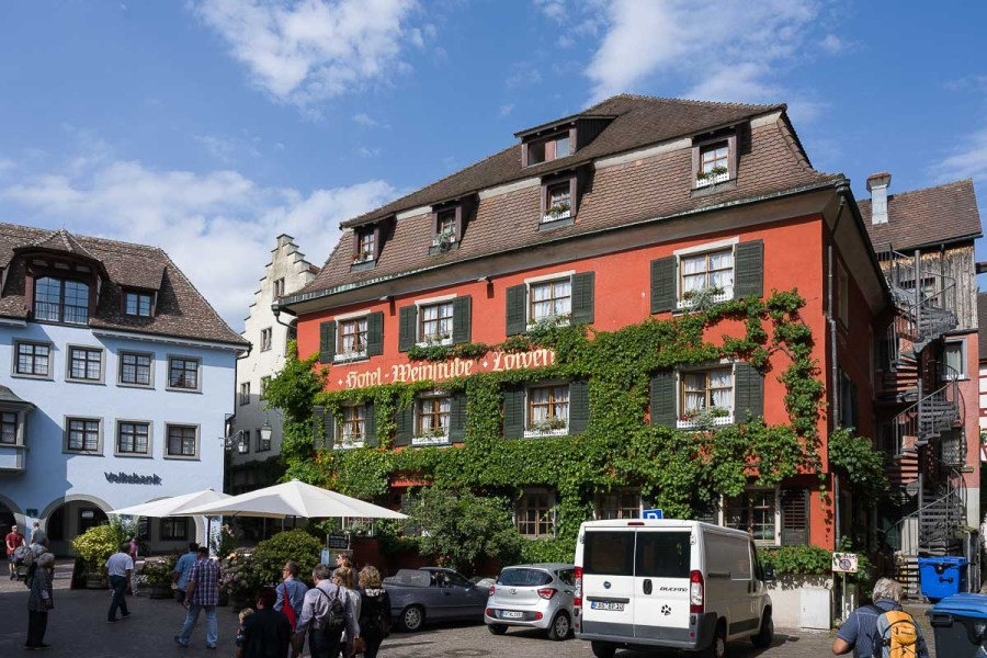 Hotel zum Löwen in Meersburg