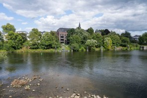 Ruhr bei Kettwig - nach dem Stausee