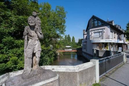 Brücke über die Erft in Bedburg