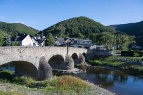 Nepomuk Brücke über die Ahr in Rech