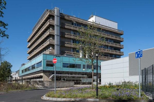 Klinikgebäude auf dem Venusberg
