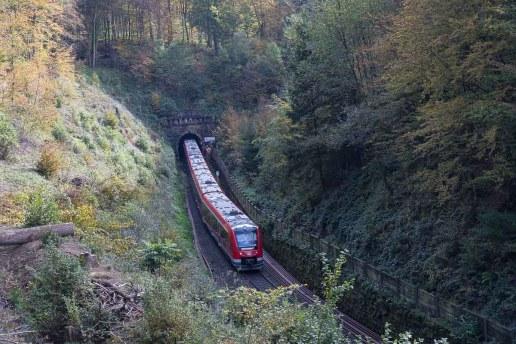 Eisenbahn im Brunsbachtal