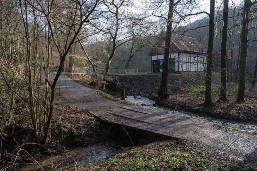 """""""Mündung"""" des Schmerbaches in den Weltersbach"""
