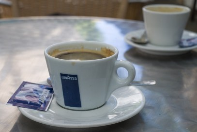 Kaffee in Pajera