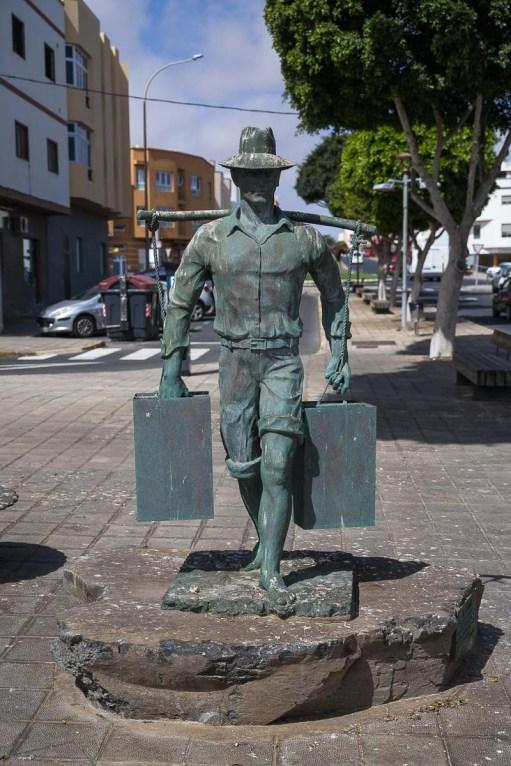 Denkmal für einen Auswanderer