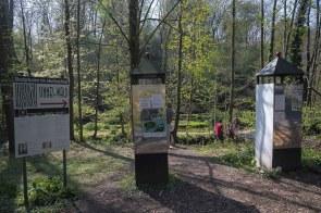 Eingang zum Skulpturenpark Sinneswald