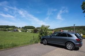 Kleiner Wanderparkplatz in Dohrgaul