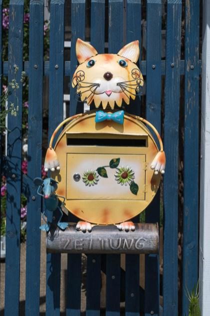 Briefkasten in Lorbach