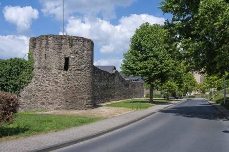 Stadtmauer in Rhens