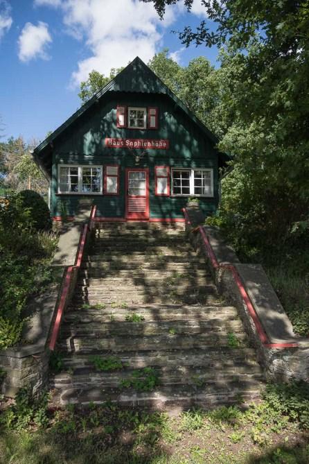 Holzhaus auf der Sophienhöhe