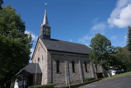 Dorfkirche in Rossbach