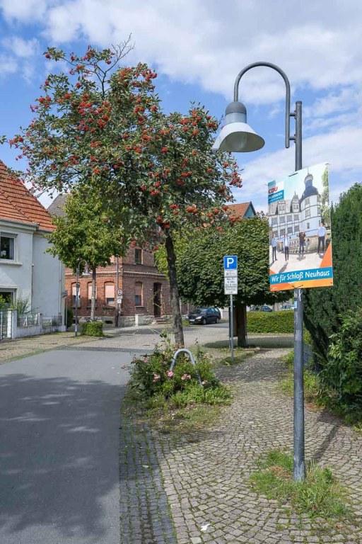 Wahlplakate gab es überall in NRW