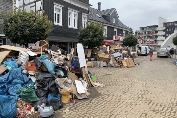 Überall Müllberge