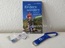 Nr. 7 - Mit Kindern wandern Köln, Pin, Magnet und Anhänger