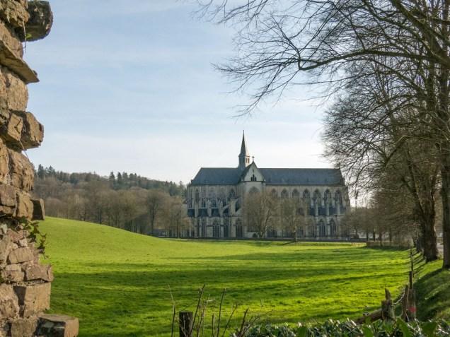 Am Ziel: der Altenberger Dom