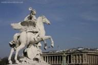 an der Place de la Concorde
