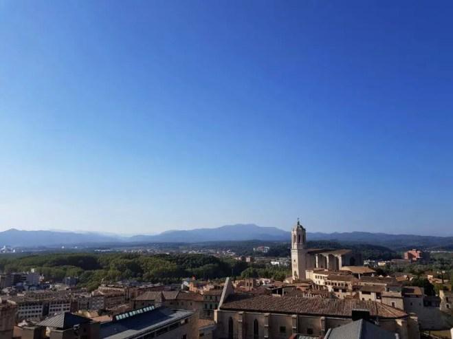 View from Muralles de Girona