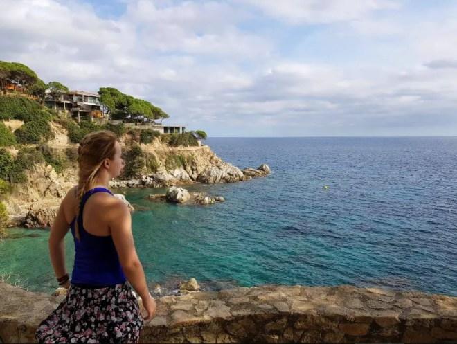 Lloret de mar hiking trail