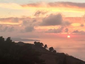 Sunset Erice, Sicily, Italy Tobi